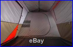 Ozark Trail 12 Person 3 Room L-Shaped Instant Cabin Shelter Family Outdoor Tent
