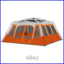 Ozark Trail 14-Person 2-Room Instant Cabin Tent, 2 minutes, Polyester, Steel NEW