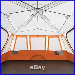 Ozark Trail 14-Person 2 Room Instant Cabin Tent, Camping Family Outdoor Shelter