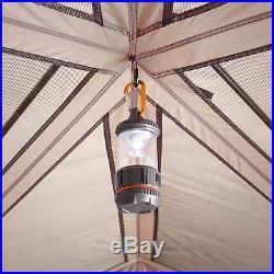 Ozark Trail 15 Person 3 Room Split Plan Instant Cabin Tent
