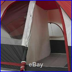 Ozark Trail 8 Person Instant Cabin Tent 2 Room Family Camping Outdoor16 x 8 ft