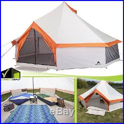 Ozark Trail 8 Person Large Yurt Tent Family Camping Backyard
