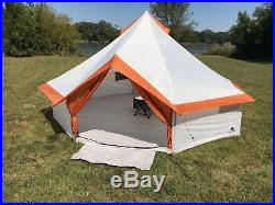Ozark Trail 8 Person Large Yurt Tent Family Camping Hiking Outdoor Fast Setup