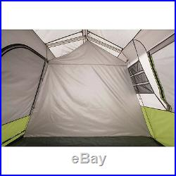 Ozark Trail 9 Person 2 Room Instant Cabin Tent Camping Outdoor Hiking Shelter