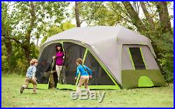 Ozark Trail 9 Person 2 Room Instant Cabin Tent With Screen Room