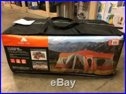 Ozark Trail Base Camp 14-Person Outdoor Family Camping Cabin Tent Orange