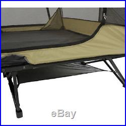 Ozark Trail Cot Tent 2 Person Sleeping Hiking Outdoor Camping Shelter Gear Loft
