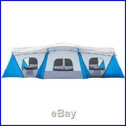 Ozark Trail Hazel Creek 16 Person Spacious Family Outdoor Cabin House Tent