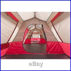 Ozark Trail Tent 15 Person Instant Cabin Large 3 Room Family Split Base