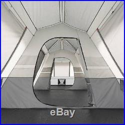 Ozark Trail Tent 15 Person Instant Cabin Large 3 Room Family Split Base Teal