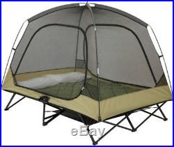 Ozark Trail Two-Person Cot Tent, Sleeps 2 Included Gear Loft, No Tax