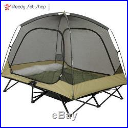 Ozark Trail Two-Person Cot Tent Sleeps 2 Included gear loft NEW FREE SHPPING  sc 1 st  C&ing Tents & Ozark Trail Two-Person Cot Tent Sleeps 2 Included gear loft NEW ...