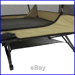 Ozark Trail Two-Person Padded Cot Sleeping Tent All Season Outdoors Camping NEW