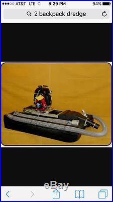 PACKRAT II 2 Lightweight Backpack GOLD Dredge Go Dredging & Mining For Nuggets