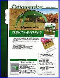Paha Que Cottonwood LT Shade Shelter 12 x 12ft One Color One Size