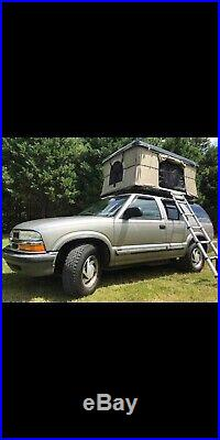Pop Up ABS Hard Shell Camping Car/Truck/Suv/Van Roof Top Tent FREE shipping