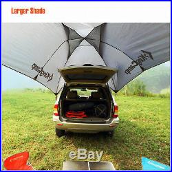 Portable Car Tent Awning Rooftop Shelter SUV Truck Van Travel Sunshade Canopy