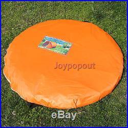 Portable Orange Easy & Quick Setup Pop Up Camping Hiking Instant Tent CRAZY SALE