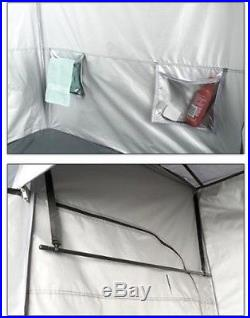 Privacy Shelter 2-Room Shower Tent Portable Outdoor Camping Utility Cabana New