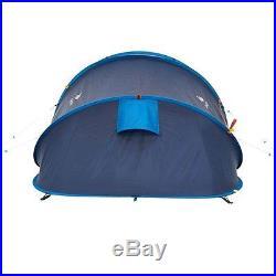 Quechua 2 Seconds XL AIR II, 2 Man Waterproof Pop Up Camping Tent (Blue)