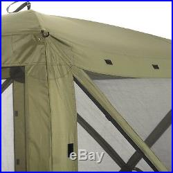 Quick-Set Traveler Portable Camping Outdoor Gazebo Canopy Shelter, Green