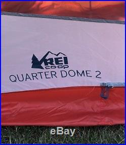 REI QUARTER DOME 2 tent 2 person 3 season Ultralight