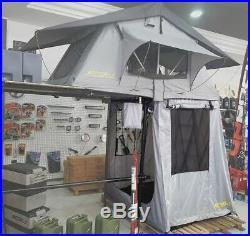 Raptor 4x4 Premium Soft Top Roof Tent Annex Enclosure Camping Overland