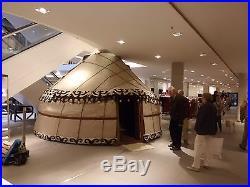 Real Kyrgys Yurt 13ft Felt & Water-resistant cover Yurts Kyrgystan Ger Tent
