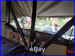 Roof Tent with Annex Genuine River Canyon for car, 4x4, van