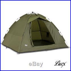 Ruck Zuck Zelt Lucx Bivvy 2 Mann Karpfenzelt Angelzelt Camping Zelt Neu