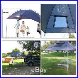 SUV Awning Rooftop Camper Outdoor Canopy Camping Car Tents Portable waterproof