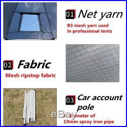 SUV Rooftop Awning Shelter Truck Car Tent Trailer Camper Outdoor Camping Canopy