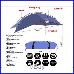 SUV Shelter Truck Car Tent Trailer Awning Rooftop Camper Outdoor Canopy Camping