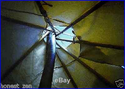 Sami Lavvu 10ft/3.3m Cotton Traditional Tent (tipi/tepee/teepee/yurt/lavvo)