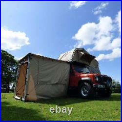 Sand Yellow Awning Tent Addon for 2mx2m Direct4x4 Pull-out Side Awnings