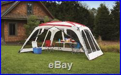 Screen Tent House 14 x 12 Canopy Shade Backyard Party Beach Shelter withCarry Bag