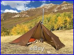 Seek Outside Cimarron (Brown) Pyramid Shelter (Stove Not Included)