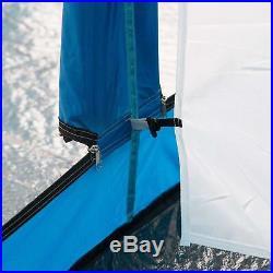 Skandika outdoor Tonsberg 5 Mann Zelt dunkelblau/ grau