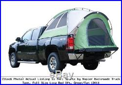 Sportz by Napier Backroadz Truck Tent, Full Size Long Bed 8ft, Green/Tan 13011