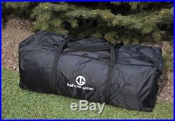 Tahoe Gear Glacier 14 Person 3-Season Family Cabin Camping Tent Green/Grey