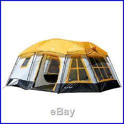 Tahoe Gear Ozark 16-Person 3-Season Cabin Tent, Orange TGT-OZARK-16-B