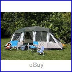 Tahoe Gear Prescott 10 Person 3-Season Family Cabin Tent (Open Box)
