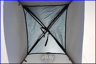 Tahoe Gear Willow 2 Person 3-Season Family Dome Camping Tent Black/Grey