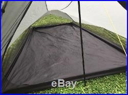 Tarptent Squall 2 Ultralight Backpacking Tent withMSR stakes and extra poles
