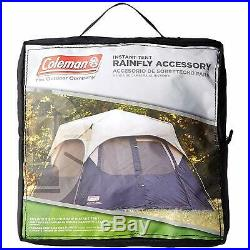 Tent Camping Hiking Outdoor Rain Fly Easy setup Coleman 6-Per Instant ACCESSORY