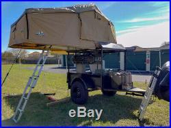 Tuff Stuff (Ranger) Rooftop Tent & Annex Room, 3 Persons