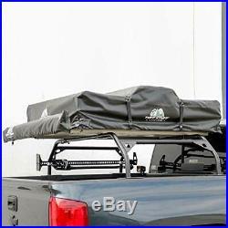 Tuff Stuff Roof Top Tent Truck Bed Rack, Adjustable, Powder Coated 60