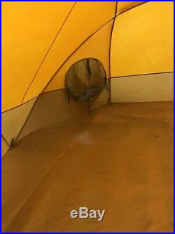 Used The North Face VE24 expedition dome tent