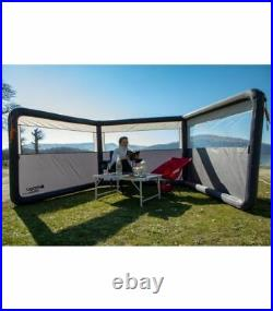 Vango Sentinel Airbeam 3 Panel Inflatable Windbreak for Caravan/Motorhome Awning