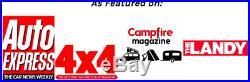 Ventura Deluxe 1.4 Roof Top Tent Camping Expedition Overland 4x4 Van Car Pickup